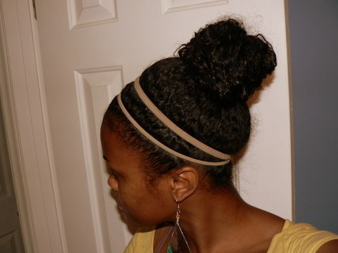 Natural Hair Bunning...