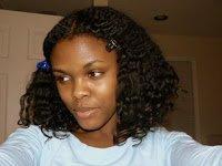 Lustrasilk Shea Butter & Mango- Day 3 Hair
