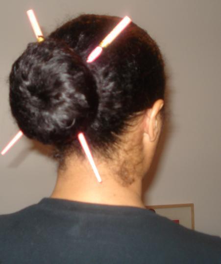 Corporate Hair a la Maria!!