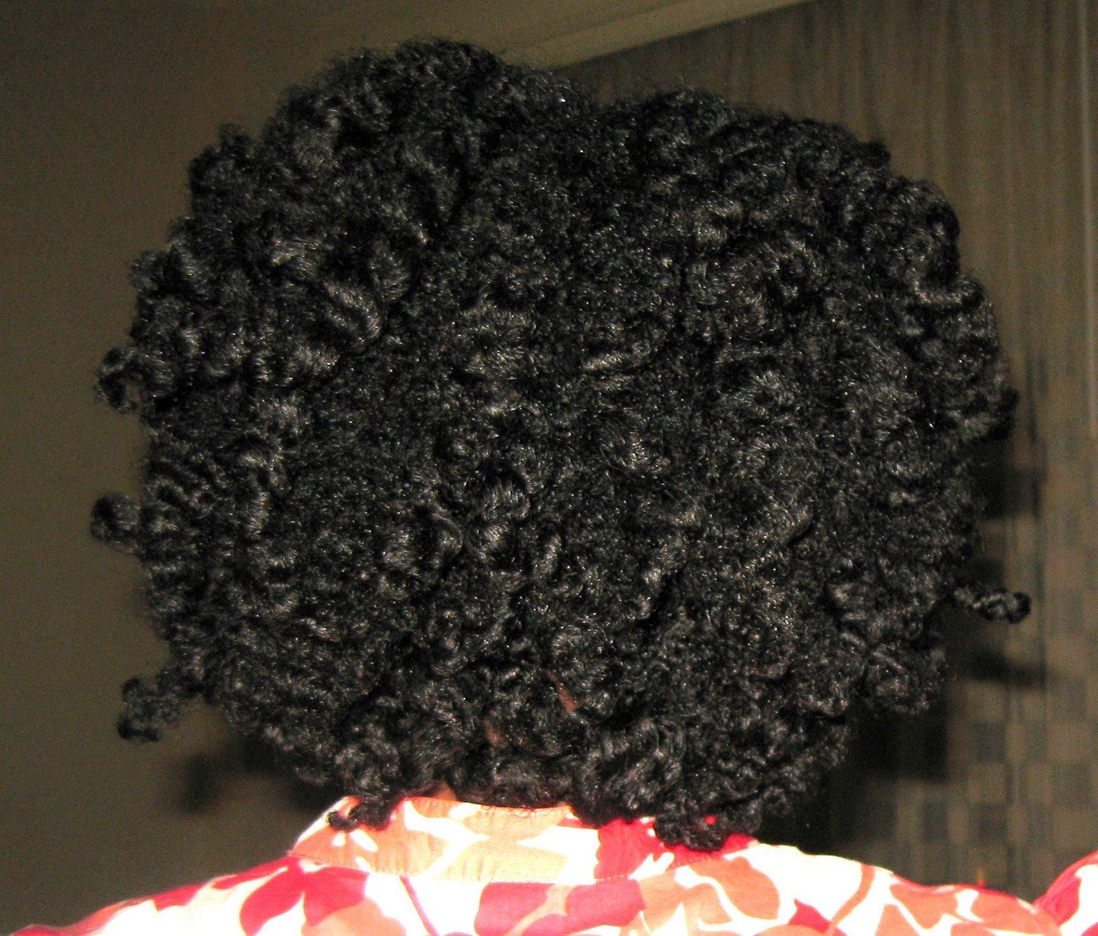 Roxanne's Twist-n-Curl Results!