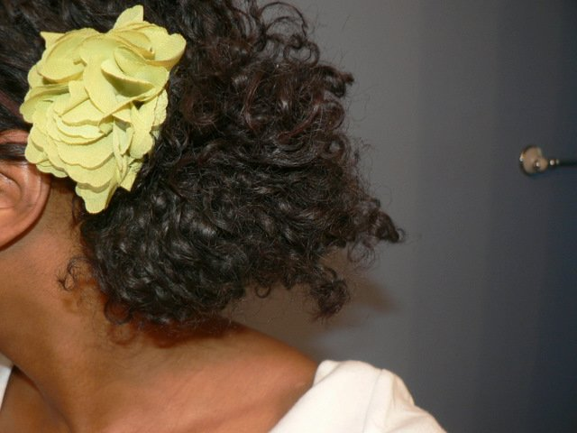 Hair Today- Messy Side Bun