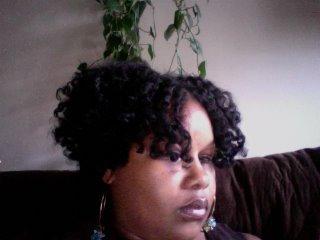 Ebony's Sleek and Shine Results!