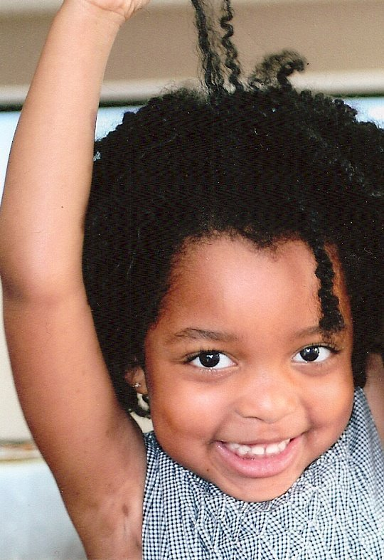 A Lesson Learned- Teaching our Children to Love Their Hair