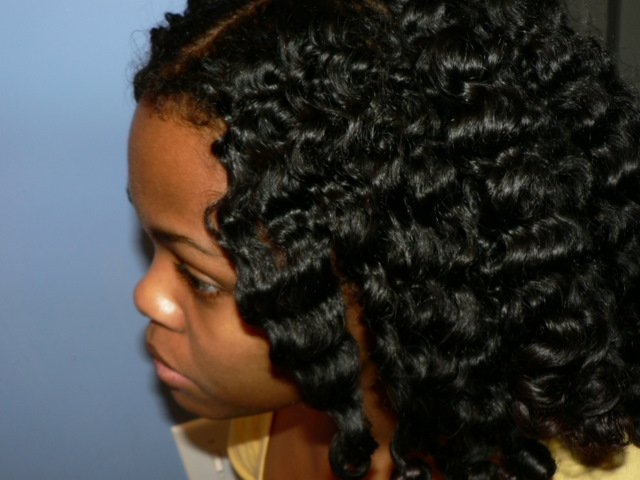 Twist Placement for a Chunky Twist-n-Curl