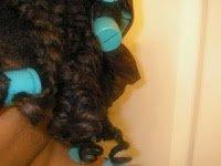 Naturally Leslie's Dry Twist-n-Curl