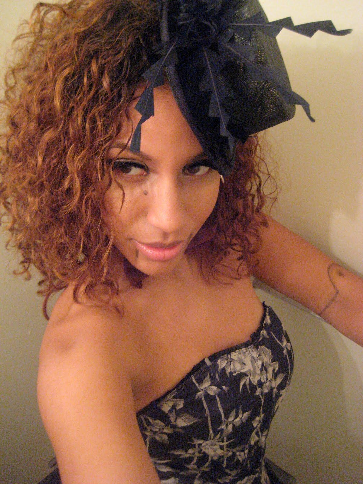 Dominique-- Naturally Glam Natural Hair Idol