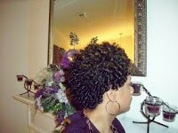 Rod Setting Natural Hair With Nmoultry