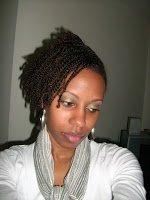 Mini Twists on Natural Hair