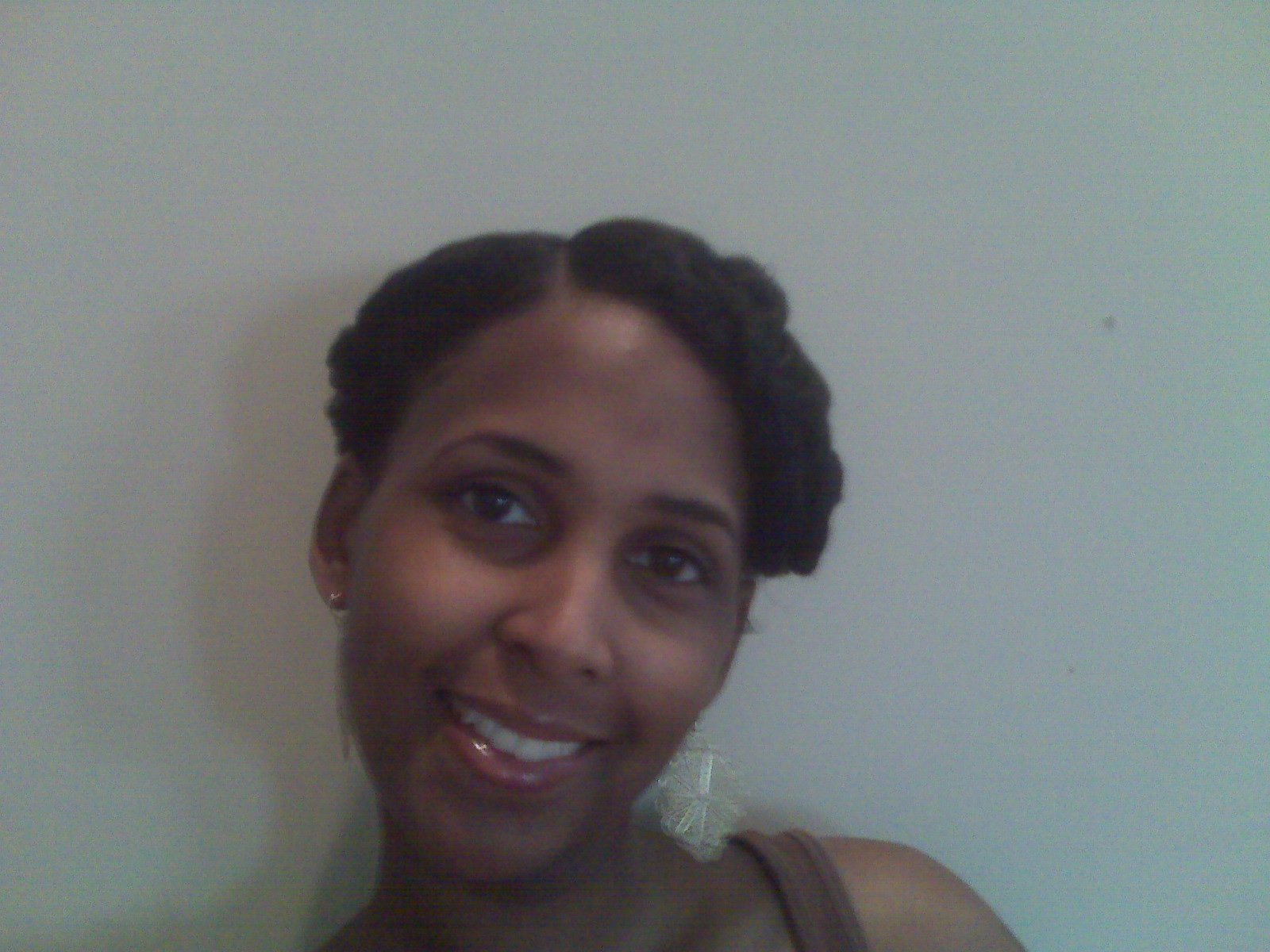 Fat Twist Updo- Natural Hair Style
