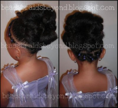 Updo for Natural Hair