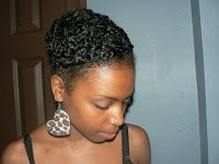 Get the Look- Cornrow and Twist Updo