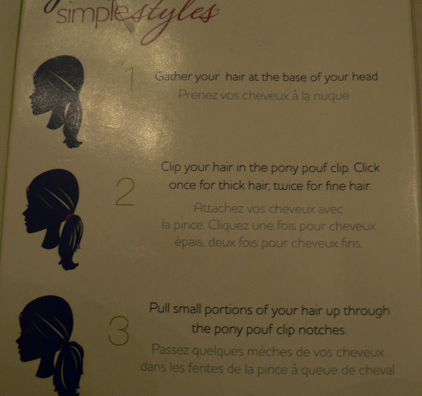 Goody Simple Styles Pony Pouf Clip Review