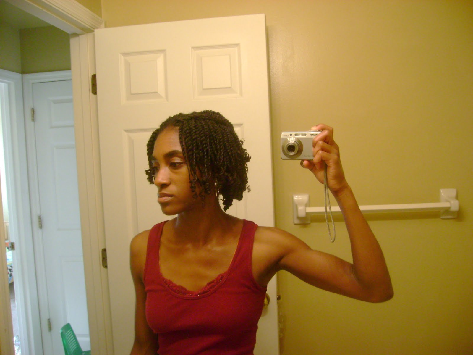 Transitioning Hair Style- Twists