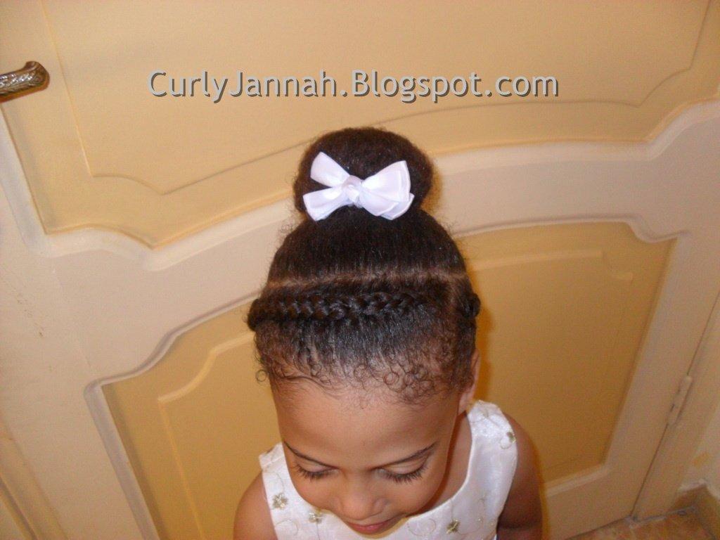 Braid Headband & Elegant Bun