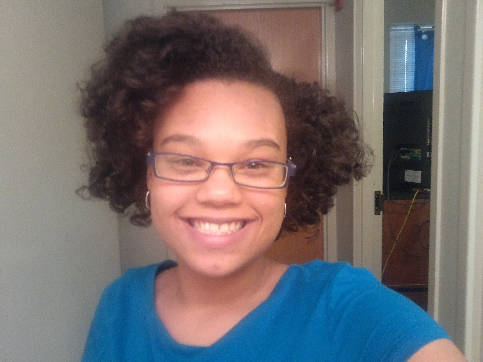 Flat Twist-n-Curl for Transitioners