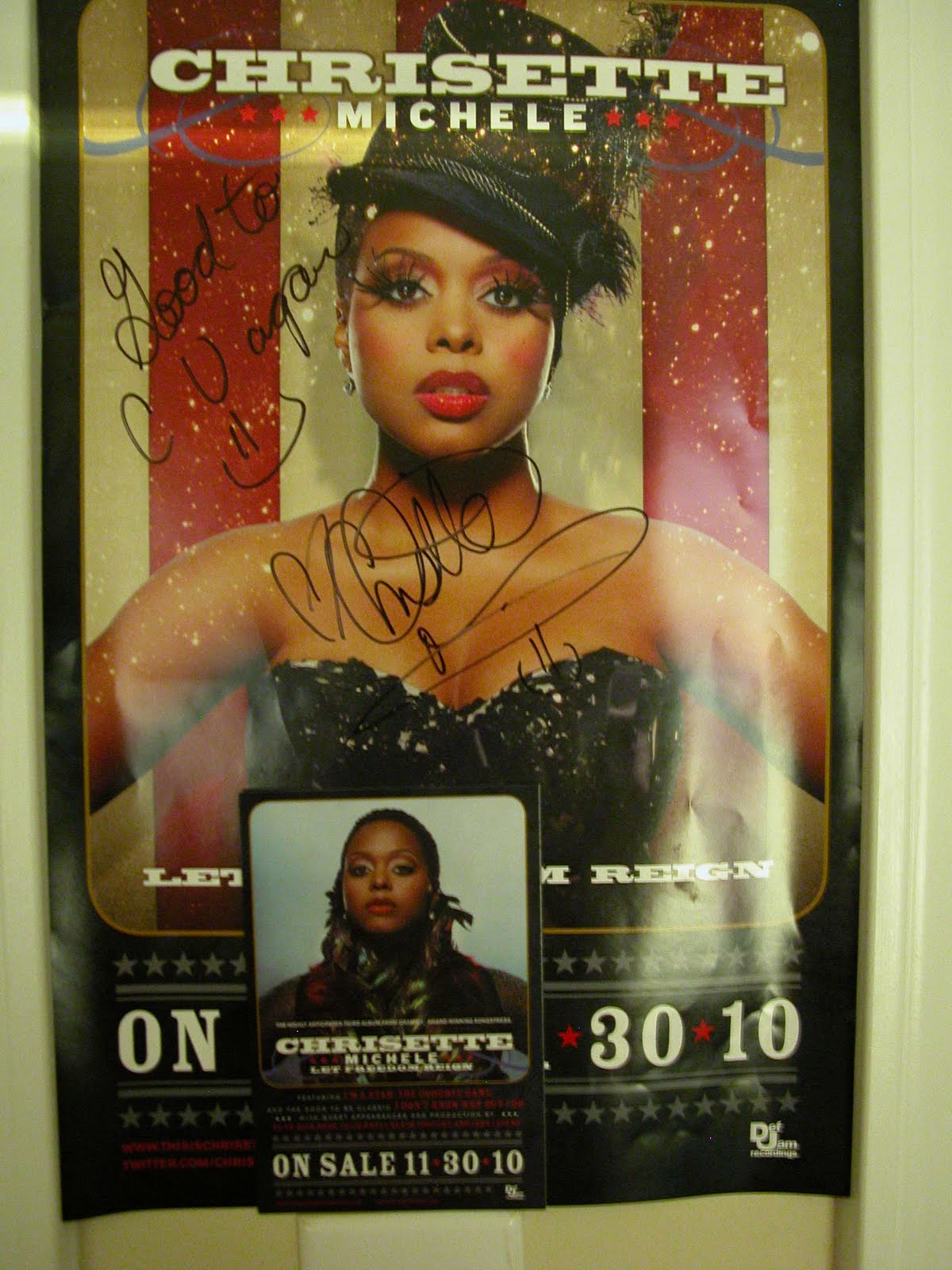 An Encounter with Chrisette Michele!
