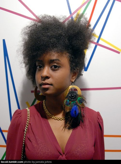 Do You Prefer 'Defined' Natural Hair?