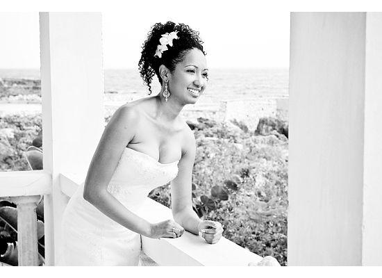 Natural Hair Bride- Bianca