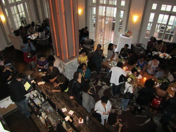 Cupcakes and Cocktails- CurlyNikki Atlanta Meet-up