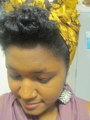 Turban Tutorial- Natural Hair Styles