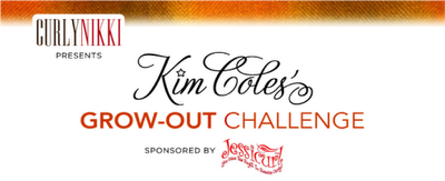 Kim Coles' Grow-Out Challenge: Check-in!
