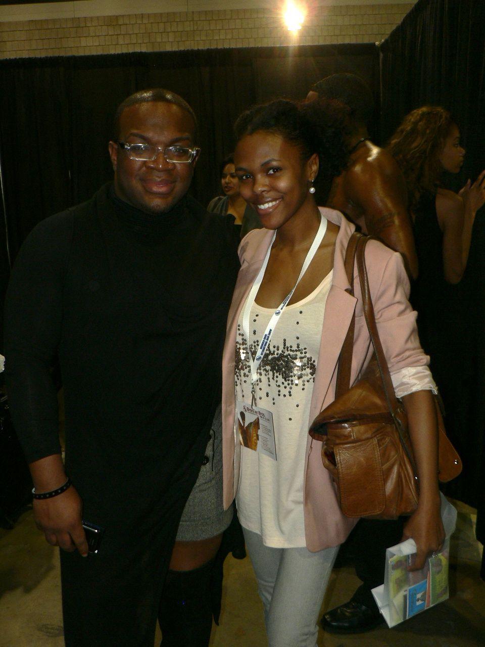 CurlyNikki and Derrick!
