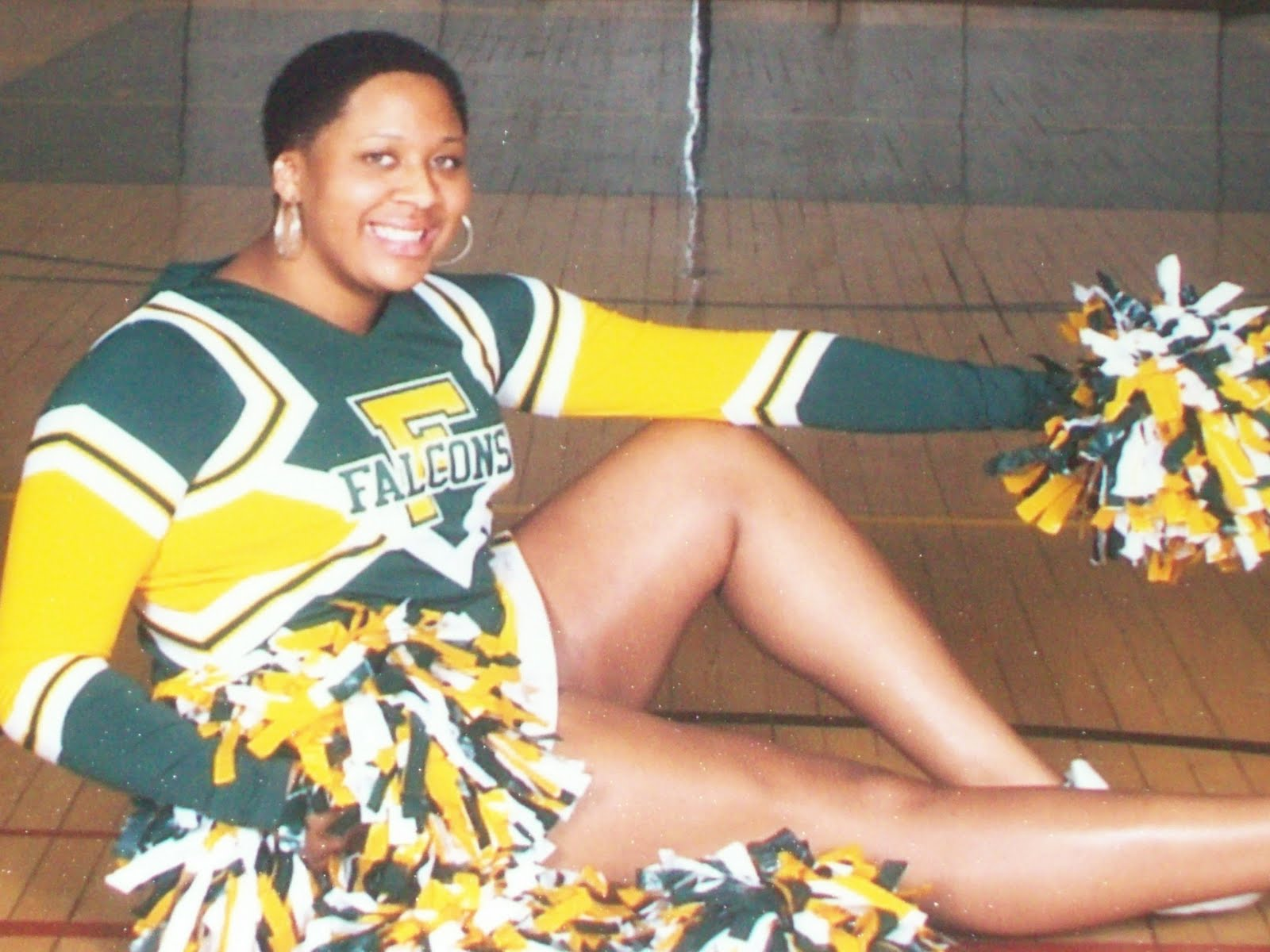 A High School Cheerleader's Journey to Natural