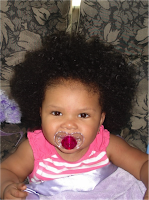 Show and Tell- The Curly Baby Edition!