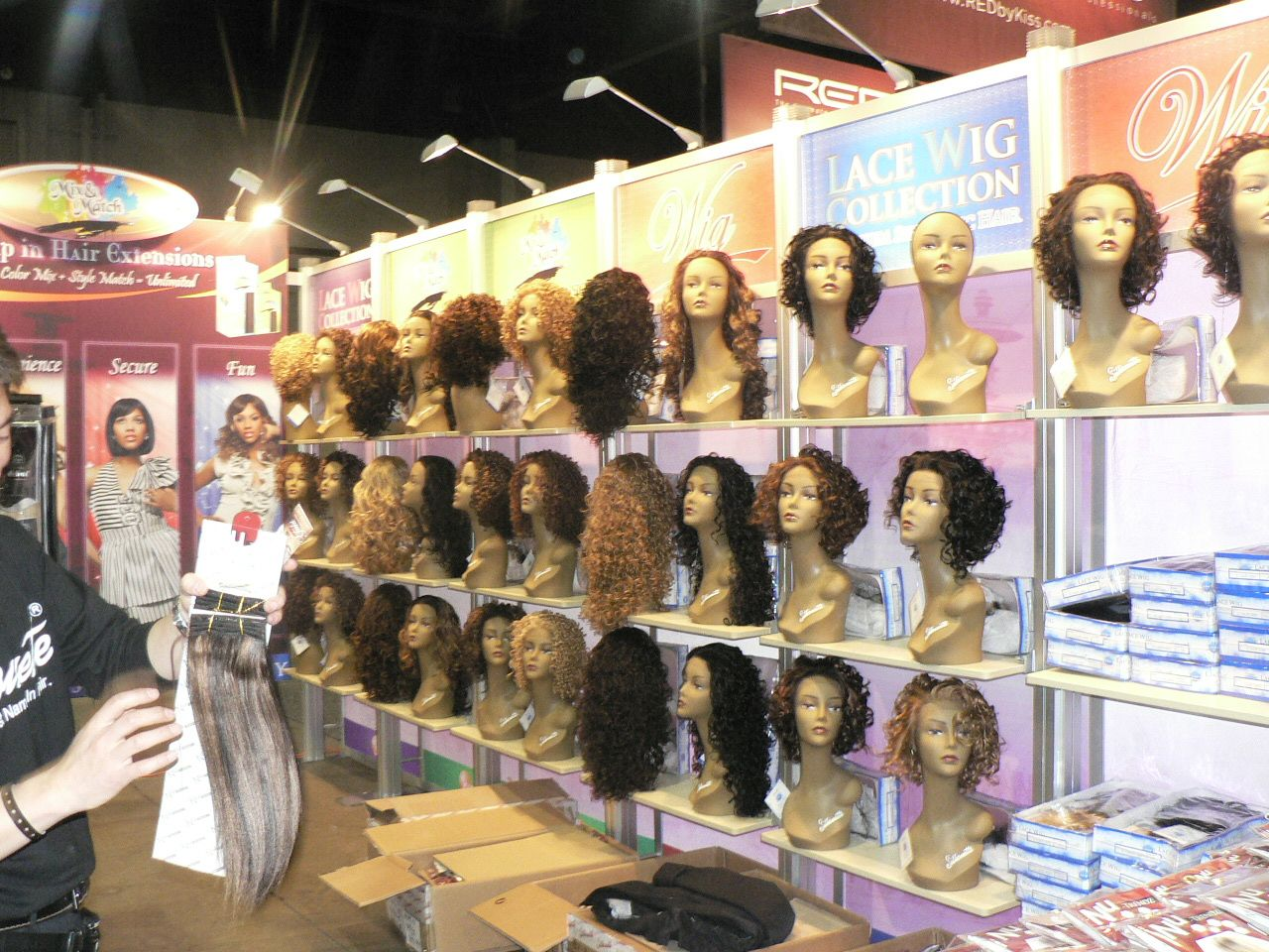 Natural Seeks Lace Front Wig