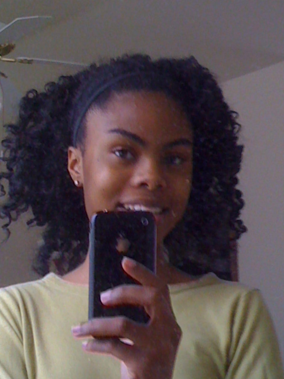 Sylvia Rocking the Curls...