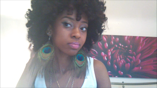 Twist-n-Curl Curly Fro- Natural Hair Style
