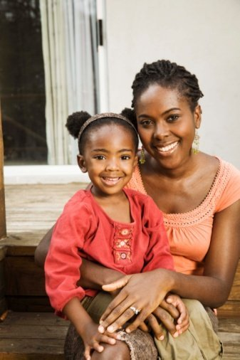 Teaching Your Daughter to Love Her Natural Hair