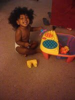Show and Tell- The Curly Baby Edition