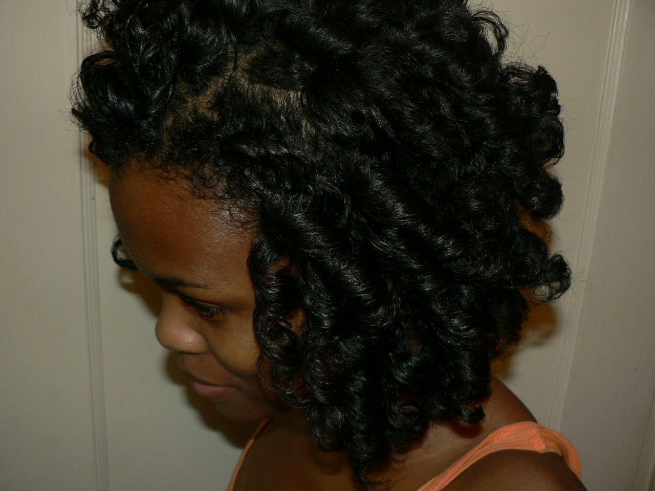 Adventures in CurlFormer Sets- Natural Hair Styles