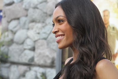 Rosario Dawson Talks Hair and Beauty
