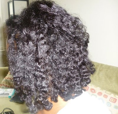 Hair Today- Twist-n-(pin)Curl Post Henna Treatment