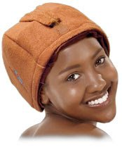 Using a Heat Cap to Set Natural Hair (Giveaway)