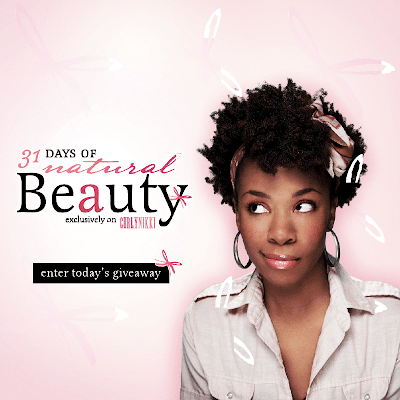 31 Days of Natural Beauty!