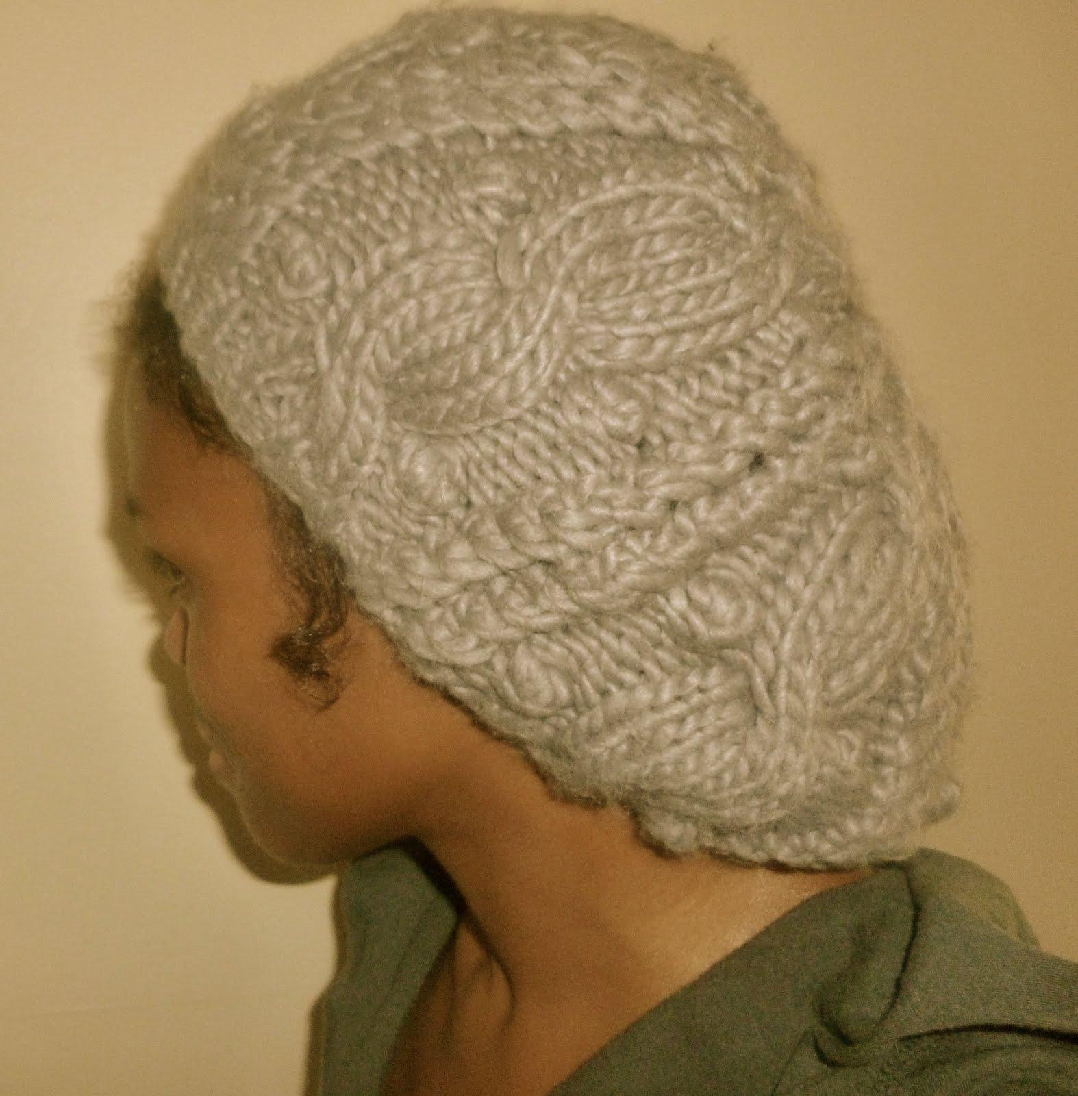Winter Hat Fun and Natural Hair