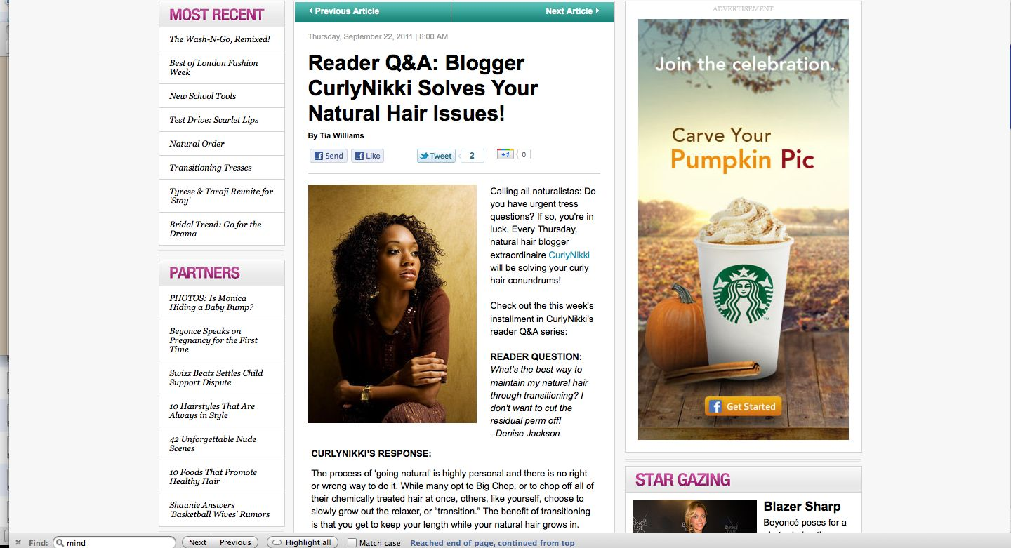 Newly Natural, Now What?!- Natural Hair Tips
