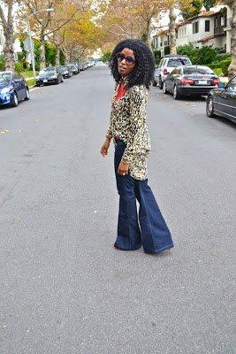 Look of the Week: Leopard Print Shirt Dress