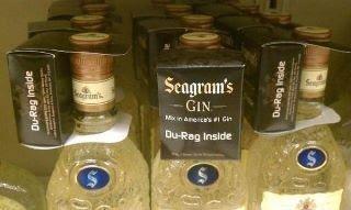 Buy Seagram's, Get Du-Rag. Really Though?
