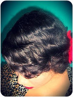 Twist-out to 1940 Waves- Natural Hair Styles