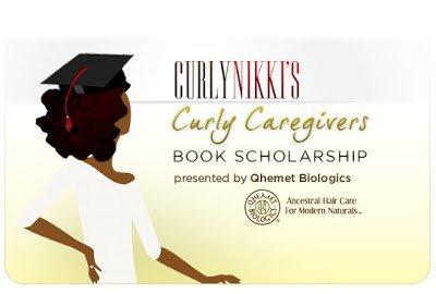 Curly Caregivers- A Book Scholarship
