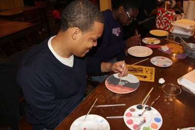 An Evening of Pottery Painting...