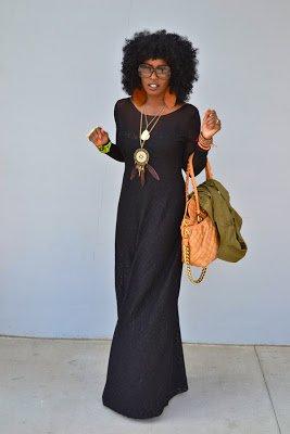 Naturally Fashionable- Lace Maxi Dress