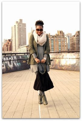 Naturally Fashionable- Gray Skies