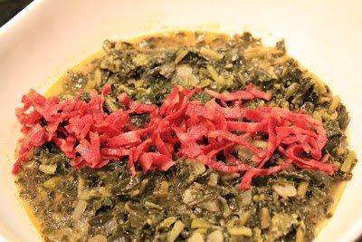 Let's Cook: Collard Greens w/ Turkey Bacon