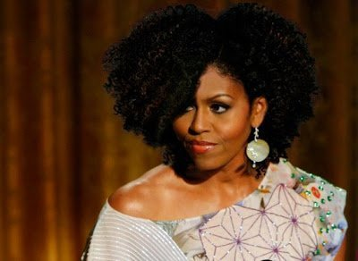 Michelle Obama Goes Curly?!