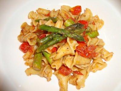 Let's Cook- Campanelle Pasta-Vegetarian!